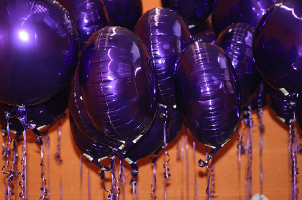 purple balloons small