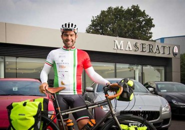 'One Man To Modena' for The Mat Davis Foundation