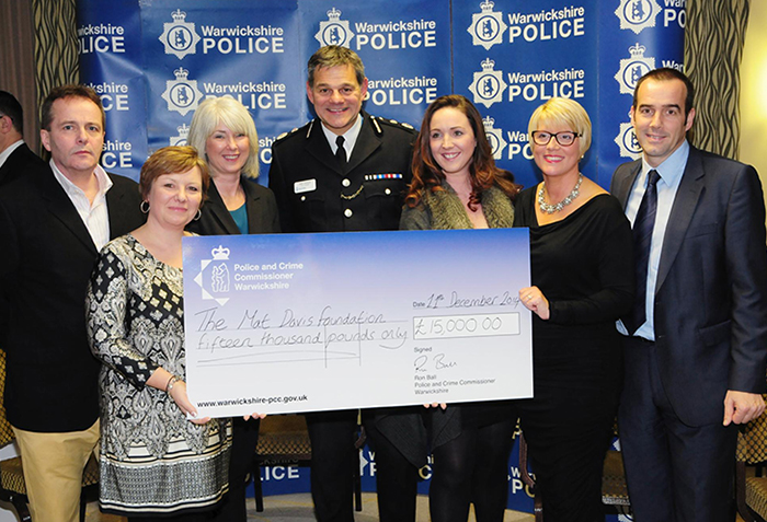 Warwickshire Police Donate to Local Charities